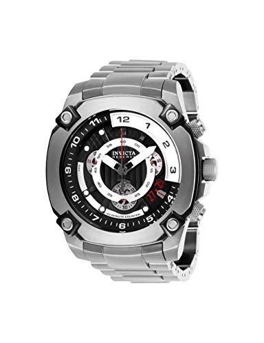 インヴィクタ インビクタ 腕時計 メンズ Invicta Men's Reserve Quartz Watch with Stainless Steel Strap, Silver, 26 (Model: 27049)インヴィクタ インビクタ 腕時計 メンズ