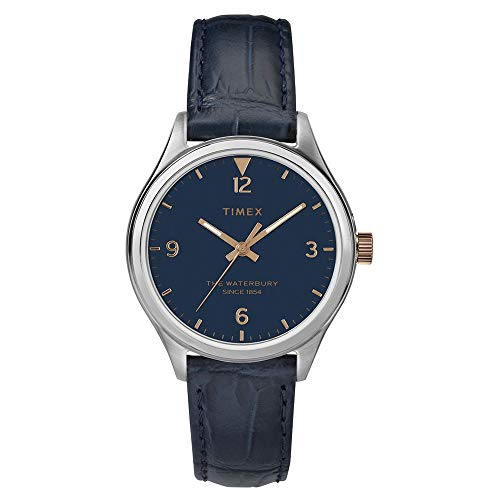タイメックス 腕時計 レディース 【送料無料】Timex Waterbury Traditional 3-Hand Navy/Navy One Sizeタイメックス 腕時計 レディース