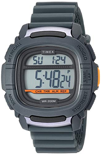 腕時計 タイメックス メンズ 【送料無料】Timex Men's TW5M26700 Command 47mm Gray Silicone Strap Watch腕時計 タイメックス メンズ