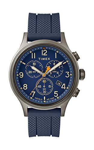 タイメックス 腕時計 メンズ 【送料無料】Timex Allied Blue Dial Silicone Strap Men's Watch TW2R60300タイメックス 腕時計 メンズ
