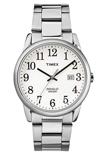 タイメックス 腕時計 メンズ 【送料無料】Timex Mens Easy Reader White Dial with a Stainless Steel Bracelet Watch TW2R23300タイメックス 腕時計 メンズ