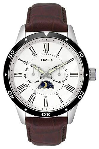 タイメックス 腕時計 メンズ 【送料無料】TIMEX Brown Leather Watch-TW2R57100タイメックス 腕時計 メンズ