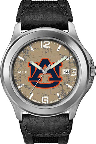 腕時計 タイメックス メンズ 【送料無料】Timex Men's Auburn University Tigers Watch Old School Vintage Watch腕時計 タイメックス メンズ