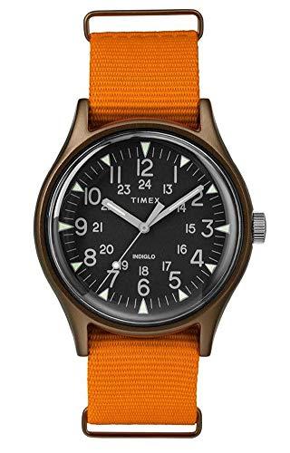 タイメックス 腕時計 メンズ 【送料無料】TIMEX Orange Fabric Watch-TW2T10200タイメックス 腕時計 メンズ