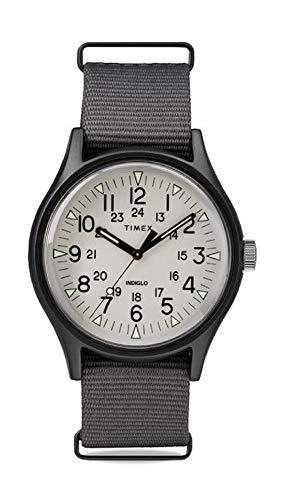 タイメックス 腕時計 メンズ 【送料無料】TIMEX Grey Fabric Watch-TW2T10500タイメックス 腕時計 メンズ