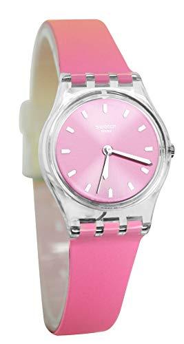 腕時計 スウォッチ レディース 夏の腕時計特集 【送料無料】Swatch Women's Quartz Watch with Silicone Strap, Pink, 14 (Model: LK380)腕時計 スウォッチ レディース 夏の腕時計特集