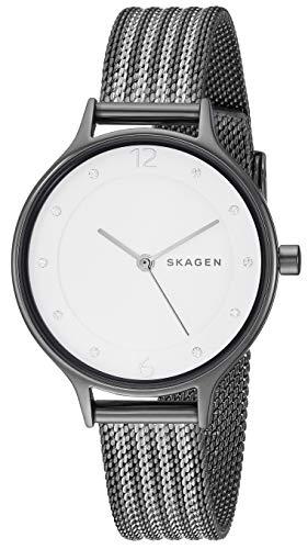スカーゲン 腕時計 レディース Skagen Women's Anita Stripe Mesh - SKW2750 Two-Tone One Sizeスカーゲン 腕時計 レディース
