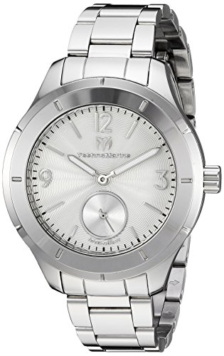 テクノマリーン 腕時計 メンズ 【送料無料】Technomarine Men's MoonSun Quartz Watch with Stainless-Steel Strap, Silver, 16 (Model: TM-117029)テクノマリーン 腕時計 メンズ
