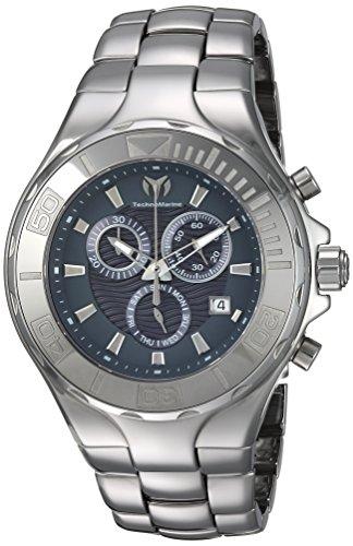 腕時計 テクノマリーン メンズ 【送料無料】Technomarine Men's Cruise Quartz Watch with Ceramic Strap, Silver, 25 (Model: TM-115320)腕時計 テクノマリーン メンズ