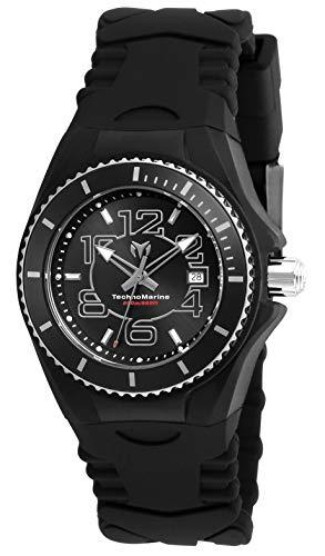 腕時計 メンズ (Model: 24 Cruise Steel Strap, Stainless テクノマリーン with Women's Silicone Black, TM-115126)腕時計 テクノマリーン 【送料無料】Technomarine メンズ Watch Quartz