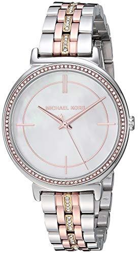 マイケルコース 腕時計 レディース マイケル・コース アメリカ直輸入 Michael Kors Women's Cinthia Analog-Quartz Watch with Stainless-Steel-Plated Strap, Multi, 13.8 (Model: MK3927)マイケルコース 腕時計 レディース マイケル・コース アメリカ直輸入