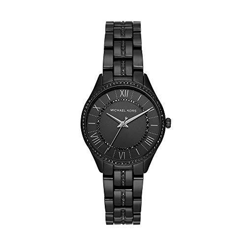 マイケルコース 腕時計 レディース マイケル・コース アメリカ直輸入 Michael Kors Women Lauryn Quartz Stainless Steel Black with Black Dial Watch MK4337マイケルコース 腕時計 レディース マイケル・コース アメリカ直輸入
