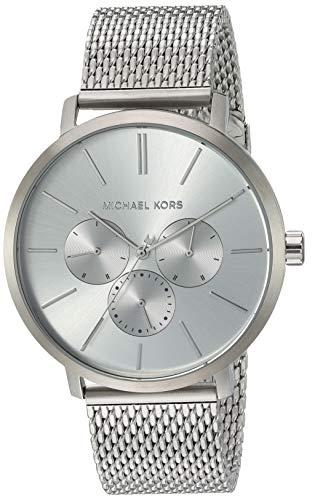 マイケルコース 腕時計 メンズ マイケル・コース アメリカ直輸入 Michael Kors Men's Blake Quartz Watch with Stainless-Steel Strap, Silver, 20 (Model: MK8677)マイケルコース 腕時計 メンズ マイケル・コース アメリカ直輸入