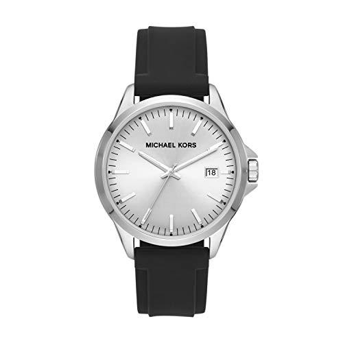 マイケルコース 腕時計 メンズ マイケル・コース アメリカ直輸入 Michael Kors Men's Penn Stainless Steel Quartz Watch with Silicone Strap, Black, 22 (Model: MK7070)マイケルコース 腕時計 メンズ マイケル・コース アメリカ直輸入