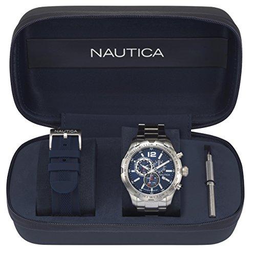 腕時計 ノーティカ メンズ 【送料無料】NAUTICA Gents NST 30 Boxset 45MM Wrist Watch腕時計 ノーティカ メンズ
