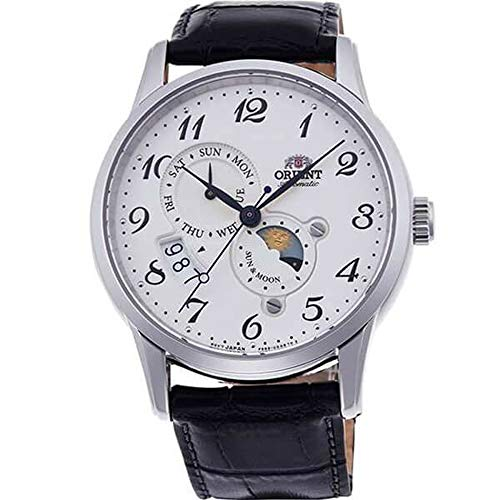 オリエント 腕時計 メンズ 【送料無料】Orient RA-AK0003S10A Men's Sun and Moon Version 4 Multifunction Complicated Leather Band Automatic Watchオリエント 腕時計 メンズ