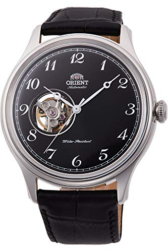 オリエント 腕時計 メンズ 【送料無料】Orient Men's Stainless Steel Automatic Watch with Leather Strap, Black, 22 (Model: RA-AG0016B10B)オリエント 腕時計 メンズ