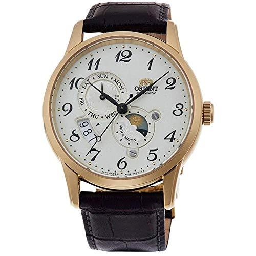 オリエント 腕時計 メンズ 【送料無料】Orient Men's Classic 42.5mm Brown Leather Band Steel Case Automatic Cream Dial Analog Watch RA-AK0002S10Bオリエント 腕時計 メンズ