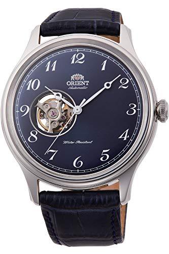 腕時計 オリエント メンズ 【送料無料】Orient Open Heart Automatic Blue Dial Mens Watch RA-AG0015L10B腕時計 オリエント メンズ