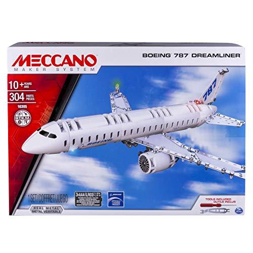 メカノ 知育玩具 パズル ブロック MECCANO-Erector - Boeing 787 Dreamlinerメカノ 知育玩具 パズル ブロック