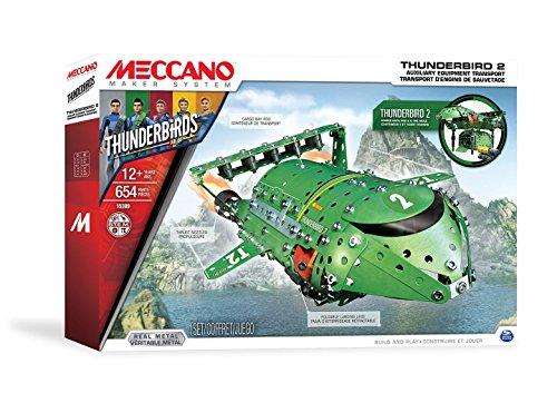 メカノ 知育玩具 パズル ブロック Meccano - Thunderbirds 2 /toysメカノ 知育玩具 パズル ブロック