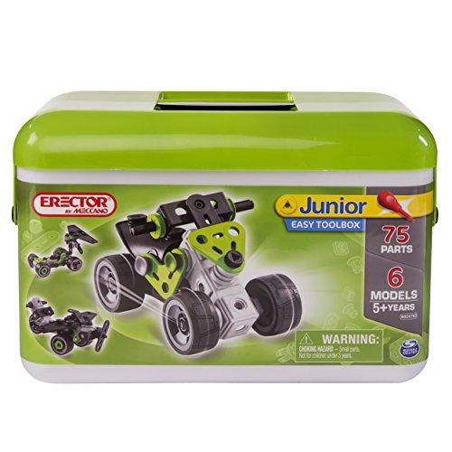メカノ 知育玩具 パズル ブロック Meccano-Erector Junior, Easy Toolboxメカノ 知育玩具 パズル ブロック