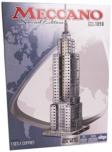 メカノ 知育玩具 パズル ブロック Erector Empire State Building Construction Setメカノ 知育玩具 パズル ブロック