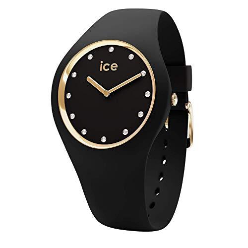 アイスウォッチ 腕時計 レディース かわいい 【送料無料】Ice-Watch ICE Cosmos Black Gold Medium Women's Watch 016295アイスウォッチ 腕時計 レディース かわいい