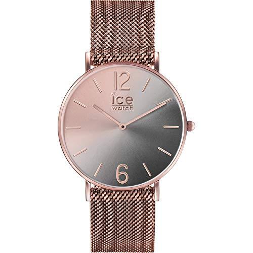 アイスウォッチ 腕時計 レディース かわいい Ice-Watch IC016026 ICE Sunset Watch Woman Black Steelアイスウォッチ 腕時計 レディース かわいい