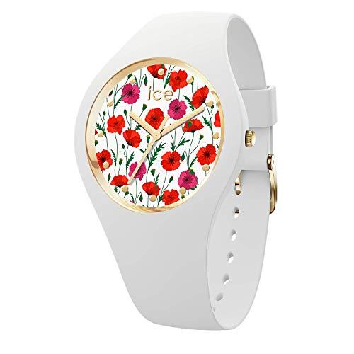 アイスウォッチ 腕時計 レディース かわいい 【送料無料】Ice Flower Womens Analog Quartz Watch with Silicone Bracelet IC016665アイスウォッチ 腕時計 レディース かわいい