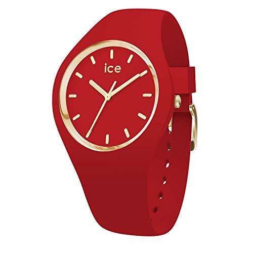 アイスウォッチ 腕時計 メンズ かわいい Ice Watch - Red - Medium 016264, Ice-Glam Colourアイスウォッチ 腕時計 メンズ かわいい