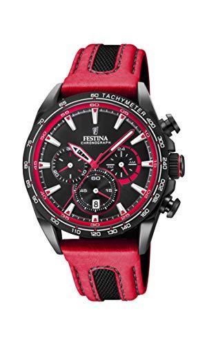 フェスティナ フェスティーナ スイス 腕時計 メンズ Festina Unisex Adult Chronograph Quartz Watch with Leather Strap F20351/6フェスティナ フェスティーナ スイス 腕時計 メンズ