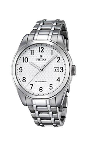 フェスティナ フェスティーナ スイス 腕時計 メンズ 【送料無料】Festina Classic F16884/1 Automatic Mens Watch Excellent readabilityフェスティナ フェスティーナ スイス 腕時計 メンズ