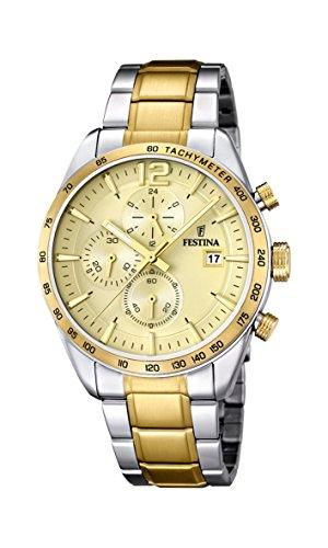 腕時計 フェスティナ フェスティーナ スイス メンズ 【送料無料】Festina Chrono Sport F16761/1 Mens Chronograph Solid Case腕時計 フェスティナ フェスティーナ スイス メンズ