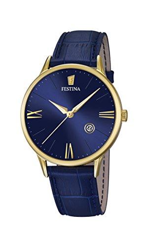 フェスティナ フェスティーナ スイス 腕時計 メンズ Festina F16825-3 CLASSIC LEATHER / GENTS / 41MM F37フェスティナ フェスティーナ スイス 腕時計 メンズ