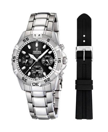 フェスティナ フェスティーナ スイス 腕時計 メンズ 【送料無料】Festina Chrono Sport Mens Chronograph With spare braceletフェスティナ フェスティーナ スイス 腕時計 メンズ