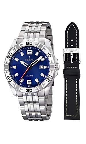 フェスティナ フェスティーナ スイス 腕時計 メンズ 【送料無料】Festina Men's Quartz Watch F16495/A with Metal Strapフェスティナ フェスティーナ スイス 腕時計 メンズ
