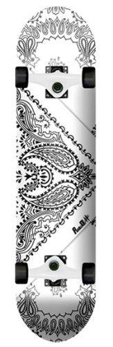 """スタンダードスケートボード スケボー 海外モデル 直輸入 010570-Bandana Yocaher Punked Bandana Complete Skateboard - 7.5"""" x 31""""スタンダードスケートボード スケボー 海外モデル 直輸入 010570-Bandana"""