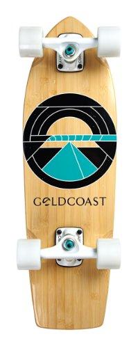 ロングスケートボード スケボー 海外モデル 直輸入 COM-BEACON GoldCoast Skateboard - Complete Longboard - Beacon Cruiser 26