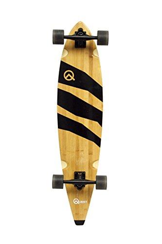 ロングスケートボード スケボー 海外モデル 直輸入 QT-BEW40C Quest Epic Classic Pintail Bamboo Longboard Skateboard, 40-Inchロングスケートボード スケボー 海外モデル 直輸入 QT-BEW40C