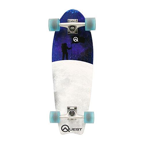 ロングスケートボード スケボー 海外モデル 直輸入 QT-GFC27C Quest Fishtail Cruiser Board Skateboard (27-Inch)ロングスケートボード スケボー 海外モデル 直輸入 QT-GFC27C
