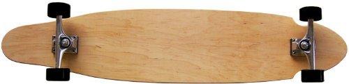 ロングスケートボード スケボー 海外モデル 直輸入 DECK MOOSE Natural Longboard Complete 9 x 43 Kicktail Blankロングスケートボード スケボー 海外モデル 直輸入 DECK