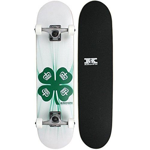 ロングスケートボード スケボー 海外モデル 直輸入 KRRC-8 Krown Rookie 4 Leaf Clover Complete Skateboardロングスケートボード スケボー 海外モデル 直輸入 KRRC-8