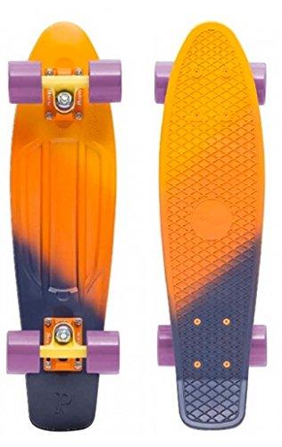 スタンダードスケートボード スケボー 海外モデル 直輸入 428407654730 Penny Fade Complete Skateboard, Dusk, 22