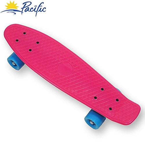 スタンダードスケートボード スケボー 海外モデル 直輸入 retro mini Cruiser Complete Skateboard Penny Style deck Street Skate board plastic (Pink)スタンダードスケートボード スケボー 海外モデル 直輸入