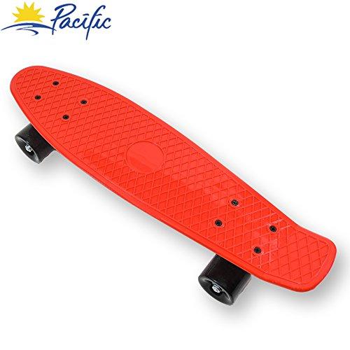 スタンダードスケートボード スケボー 海外モデル 直輸入 OFF! Retro Mini Cruiser Complete Skateboard Penny Style Deck Street Skate Board Plastic (Red)スタンダードスケートボード スケボー 海外モデル 直輸入