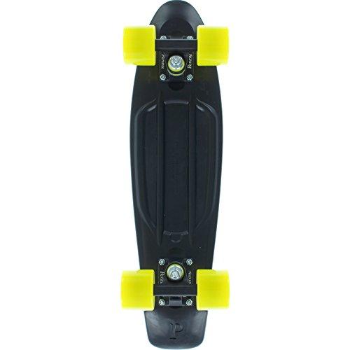 スタンダードスケートボード スケボー 海外モデル 直輸入 Penny Skateboards Midnight Yellow 22