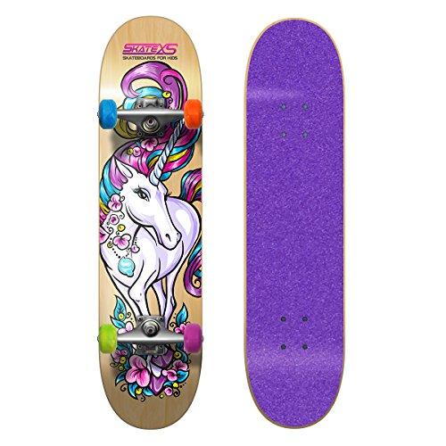 スタンダードスケートボード スケボー 海外モデル 直輸入 SkateXS Beginner Unicorn Girls Skateboardスタンダードスケートボード スケボー 海外モデル 直輸入