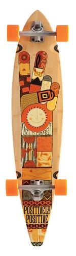 ロングスケートボード スケボー 海外モデル 直輸入 COM-ORIG GoldCoast Skateboard - Complete Longboard - Origin Pintail 40