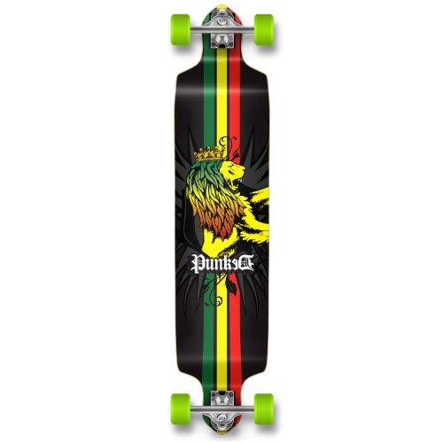 ロングスケートボード スケボー 海外モデル 直輸入 Dropdown-Rasta Yocaher Professinal Speed Drop Down Complete Longboard Skateboard Rastaロングスケートボード スケボー 海外モデル 直輸入 Dropdown-Rasta
